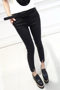 韩版显瘦小脚裤