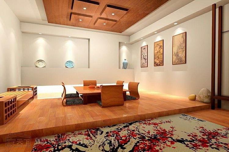"""日本等地,是盛唐地面房间""""和室""""成为材料的墙纸,传至韩国后对接铺设其pvc自粘传统演变图片"""