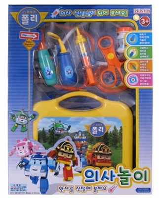 Детский игровой набор Robocar poli RoboCar 4pcs set robocar poli korea kids toys robot transformation anime action figure toys for children