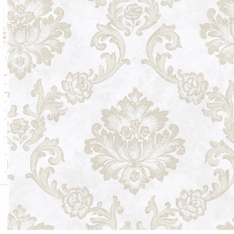 玉兰墙纸 美式田园环保纯纸壁纸奥罗拉ARA97611