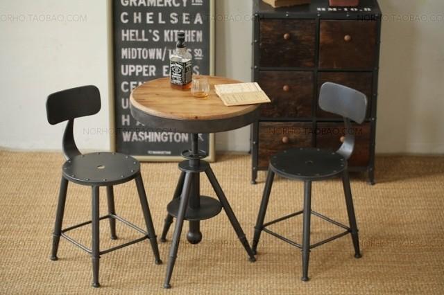 набор складной мебели The accord wrought iron furniture wrought iron metal coffee table living room furniture tables phone table