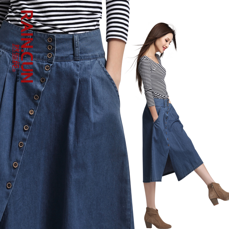 Фасоны юбок из джинсовой ткани
