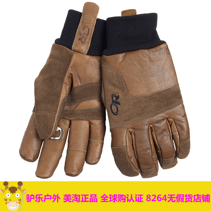 Перчатки для туризма и кемпинга Outdoor Research 73210 Blackpowder Leather Gloves OR model enrichment in operation research