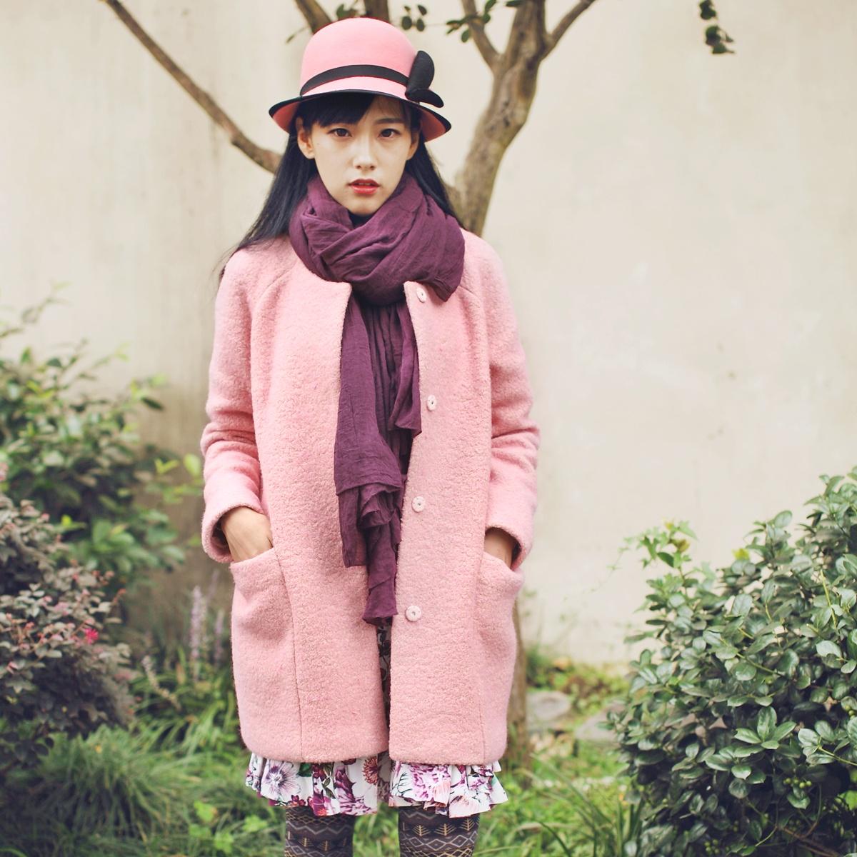 женское пальто An Nichen 2014 An Nichen