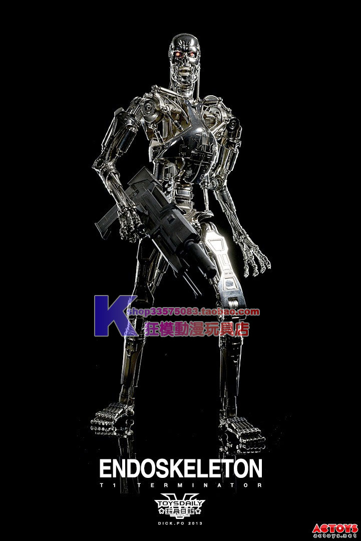 Военные игрушки для детей Hot Toys HT 1/4 Terminator T2 T800 hot sale 12cm foreign chavo genuine peluche plush toys character mini humanoid dolls