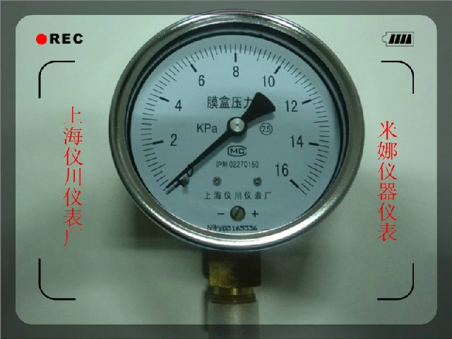 Манометр Shanghai instrument and meter plant ye100