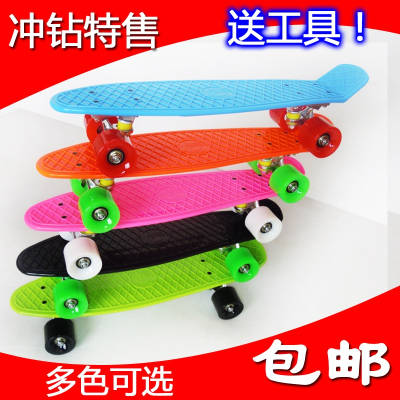 Скейтборд OTHER PS001 Free Shipping 22 Penny Mini Cruiser Skateboard Penny Board