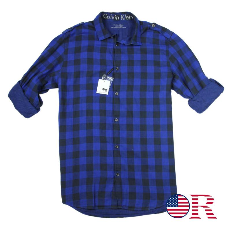 Рубашка мужская Calvin Klein  Ck CK