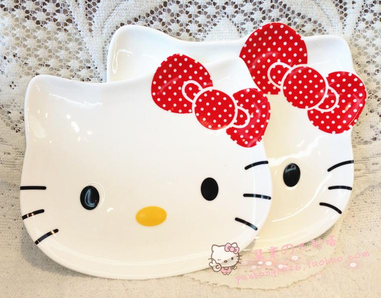 Тарелка Hello kitty cxzyking 20cm sweet new kt cat hello kitty plush toys cute hug mushroom hello kitty kt cat pillow dolls for kids baby girl gift