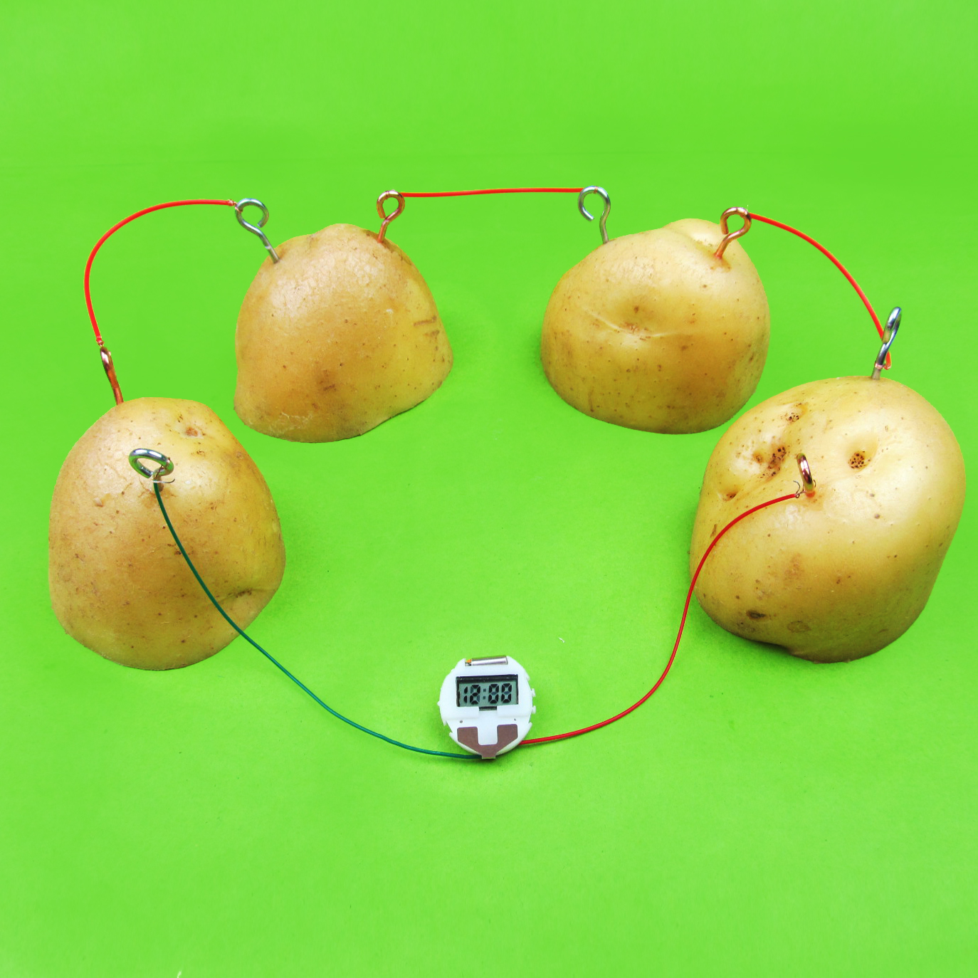 创意环保供电diy科技小制作科学实验器材果蔬水果发电