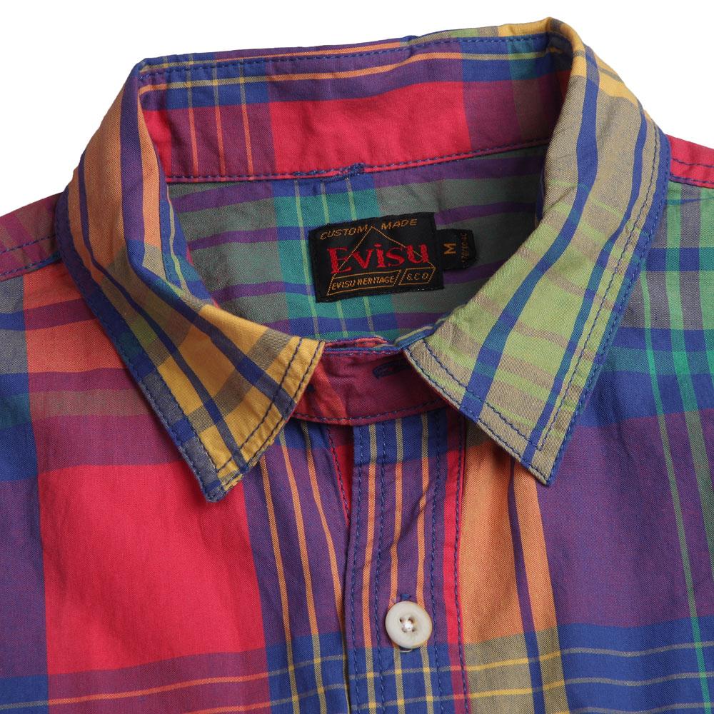 Рубашка мужская Evisu s12wmmss08 1490