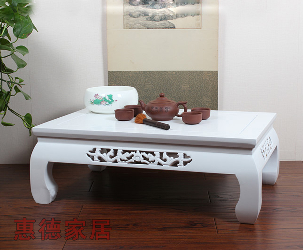 Комплект татами White solid wood coffee table brin coffee table