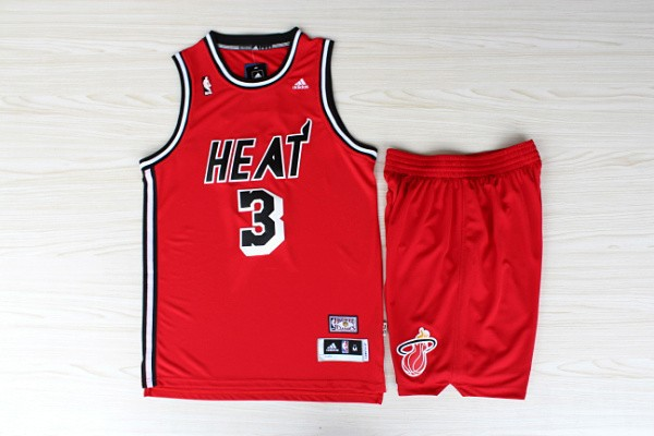 одежда для занятий баскетболом Basketball clothes  NBA Kit R30 Miami Heat James Bosh Red Classic Jersey+shorts одежда для занятий баскетболом nba cleveland cavaliers irving gold jersey