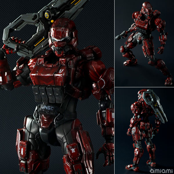 Подвижная модель куклы Play Arts change Square Enix PLAY ARTS SPARTAN Soldier square enix play arts kai halo 5 guardians spartans lock figure