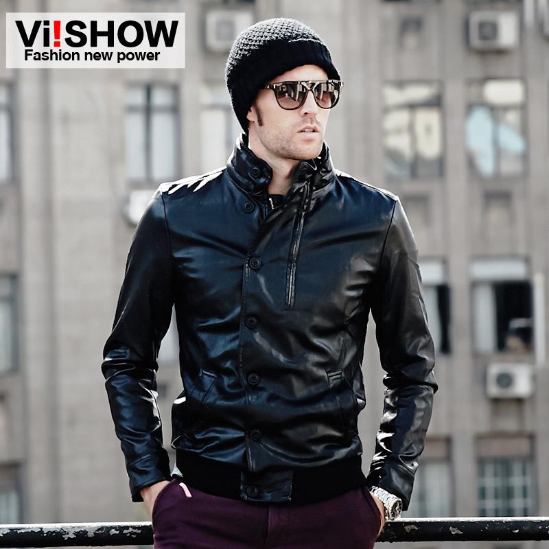 Одежда из кожи VIISHOW qjvs80012 Viishow2014 одежда из кожи viishow dc01546 258viishow