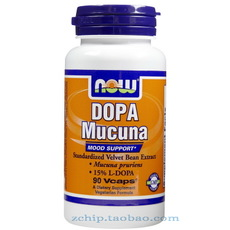 Другие Now Dopa Mucuna 400mg 90