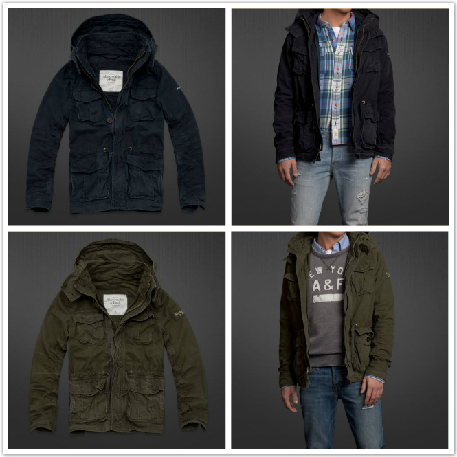 Куртка Abercrombie & fitch  Abercrombie Fitch AF North Notch Jacket