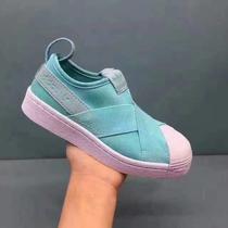 阿迪贝壳头鞋