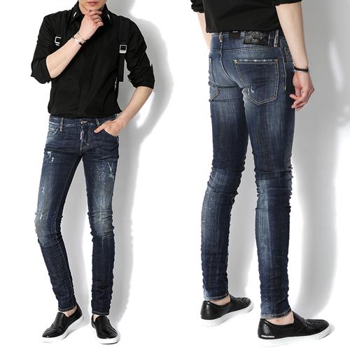 Джинсы мужские DSquared2  15F/W 74LA0833 Slim джинсы мужские dsquared2 s74la0728 d2 15 slim