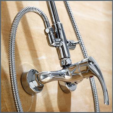 全铜淋浴柱花洒简套装件JY04834