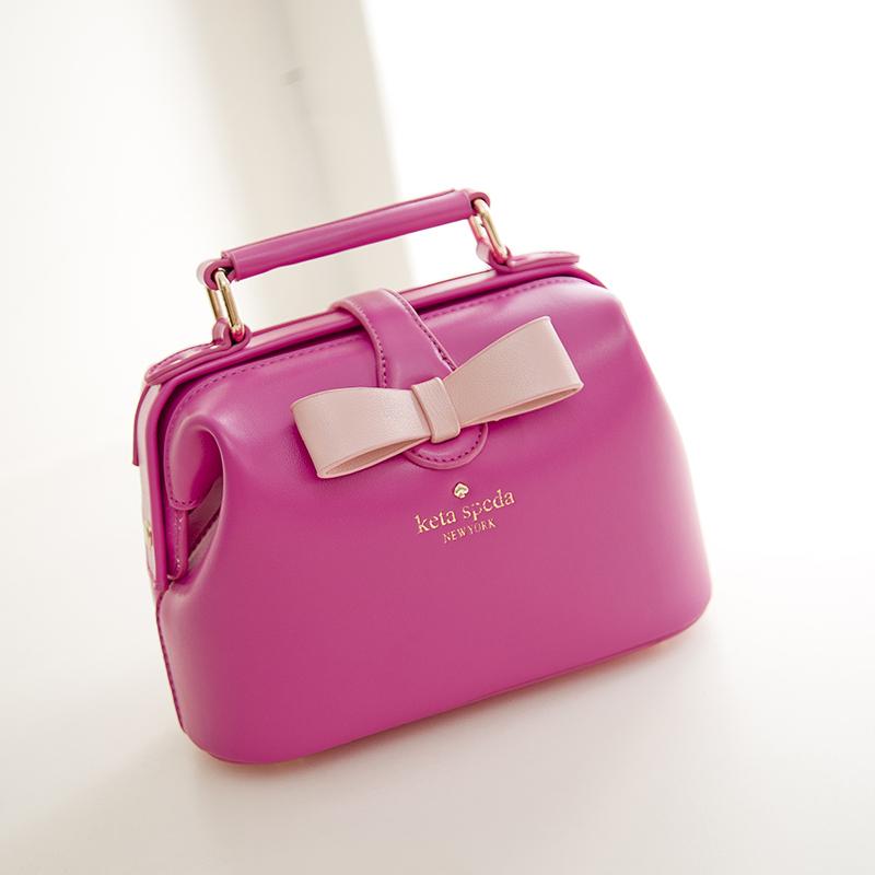 Сумка Женщины сумка в летом 2015 прилив кожа врачей мешок стиль macarons лук пакет baodan плечо сумка