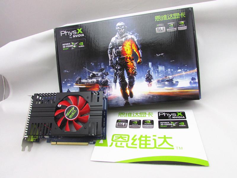 Видеокарта Galaxy  GT640 1G PCI-E GTS450 GTX560TI GTS250