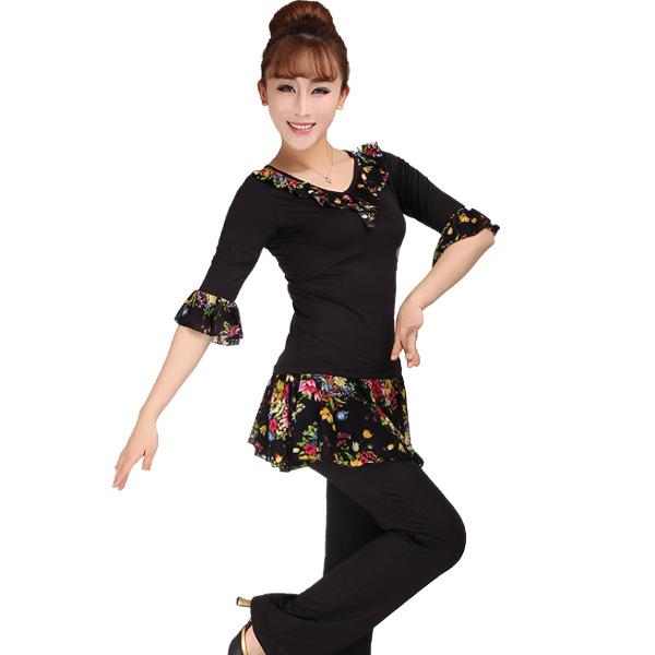 Одежда для тренировок латинскими танцами TJ clothing 088