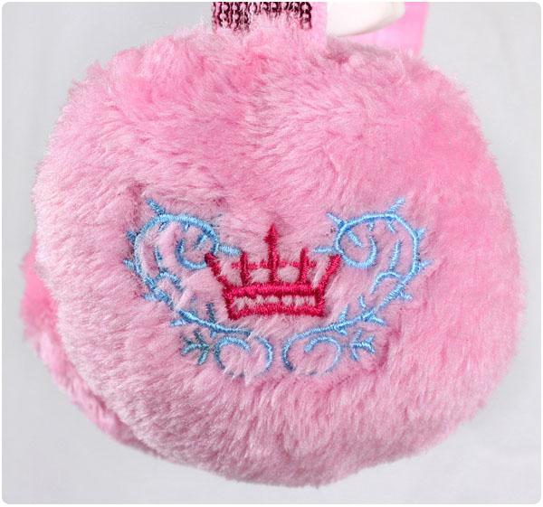 Меховые наушники детские Disney PR0002