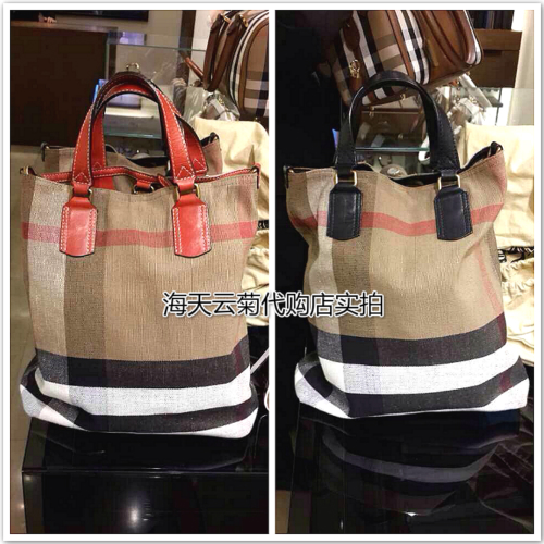Сумка Burberry CANVAS CHECK burberry сумка для мам