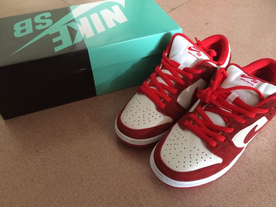 кроссовки Nike  SB DUNK LOW Valentines Day 313170-662 nike nike dunk low gs