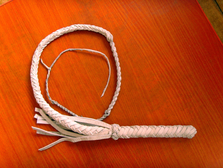 Кожаные плети своими руками