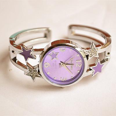 包邮 韩国时尚潮流手镯表 女表 手链时装表 钻表 学生表 女手表