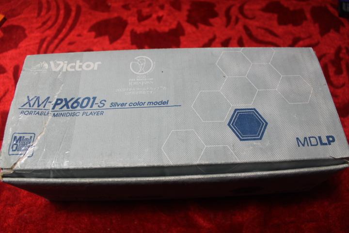 MD-плеер JVC  XM-PX601 MD кувалда truper md 6f 19884