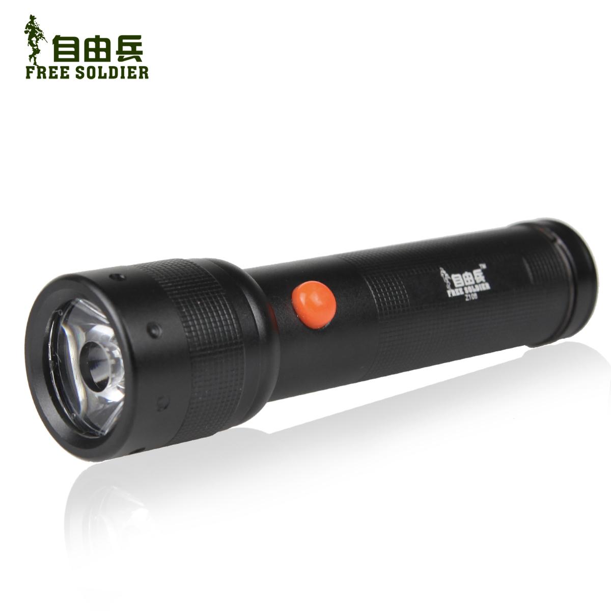 Ручной фонарик Free Soldier Z108 LED Flashlight free