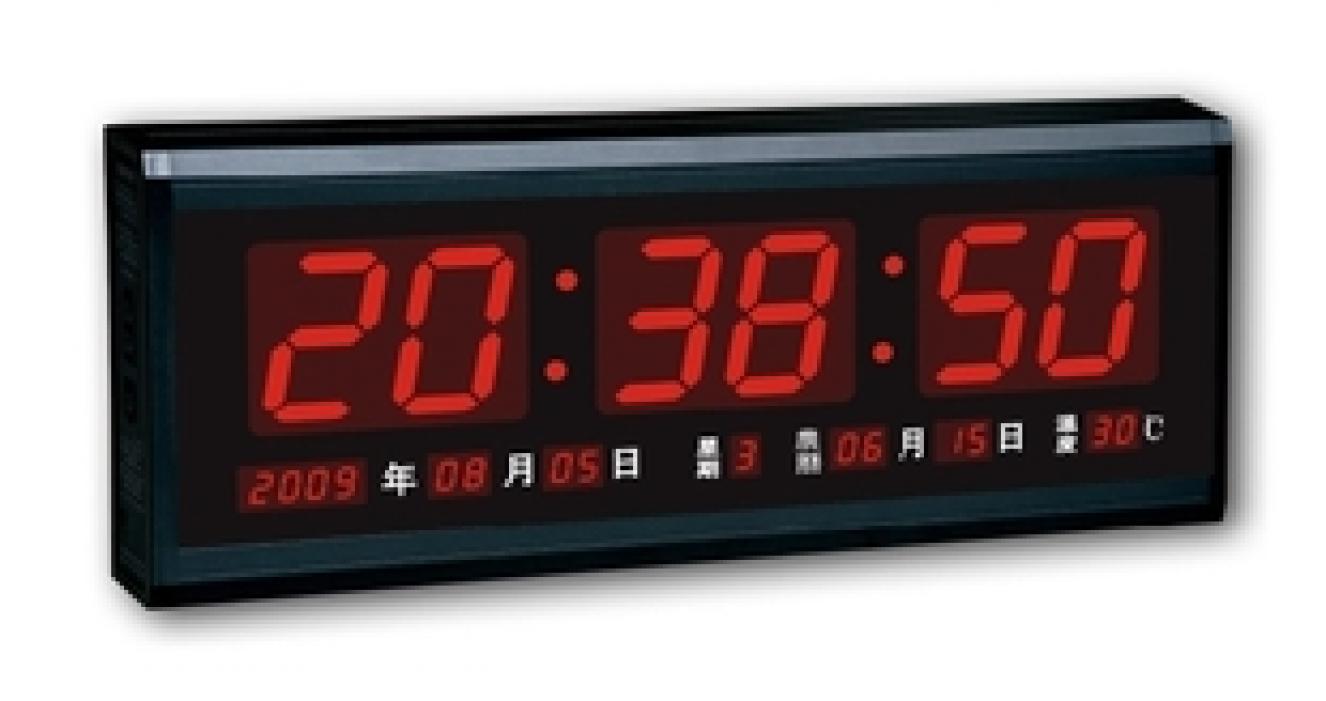 Настенные часы Hong Thai calendar LED