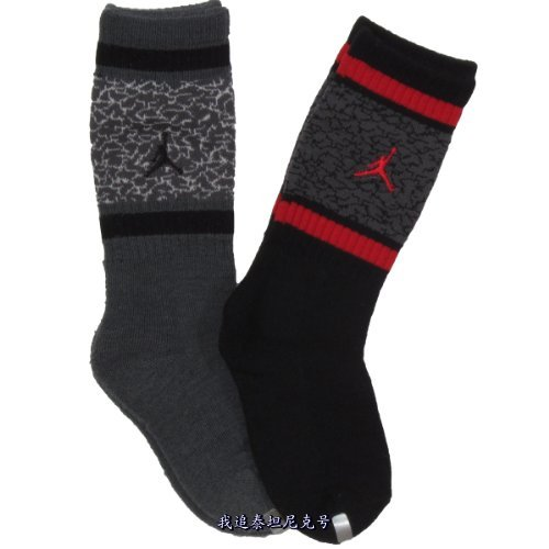 Товары для ухода за детьми OTHER  Jordan Kids Elephant Crew Socks Pack For Boys And injinji 2012 performance midweight mini crew toe socks