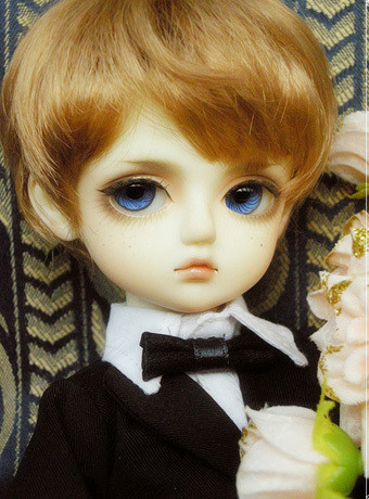 Кукла BJD 85 BG 1/6 BJD BB AE/DZ [wamami] 20 white straight long wig for 1 4 msd dz dod bjd dollfie 6 7