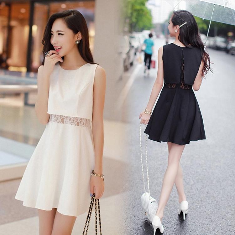 Корейский платья 2016 новинки