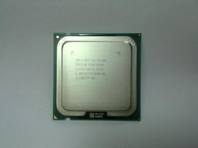 Процессор Intel  Pentium E5700 3.0GHz CPU VT процессор intel nb cpu mobile pentium 3 2 ghz sl77r