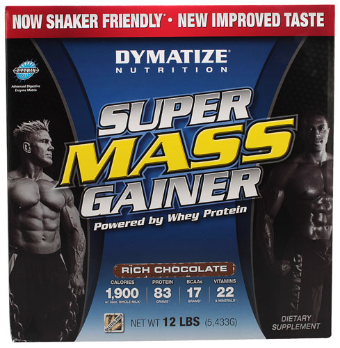 Dymatize nutrition Dymatize Super Mass Gainer гейнер geneticlab nutrition mass gainer шоколад 1000 г