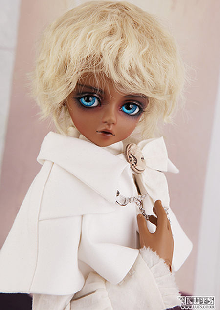 Кукла BJD BJD SD 1/4 Luts Salgoo Volks Dod [wamami] 20 white straight long wig for 1 4 msd dz dod bjd dollfie 6 7