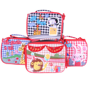 Детская сумка на ремне M baby Lunch Box aosbos fashion portable insulated canvas lunch bag thermal food picnic lunch bags for women kids men cooler lunch box bag tote