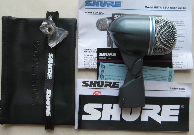 Микрофон Shure BETA 52A shure srh145