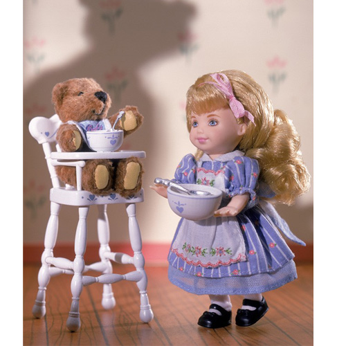 кукла Barbie  01 Goldilocks And Three Bears Kelly barbie сказочная балерина barbie