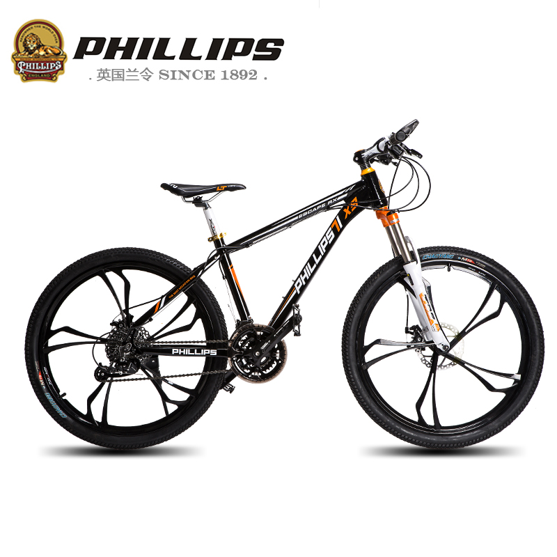Горный велосипед PHILLIPS X9 27 26 горный велосипед phillips ms881 51 21