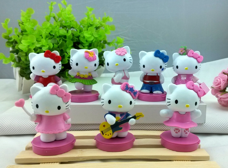 декоративное украшение Hello Kitty Kitty KT cxzyking 20cm sweet new kt cat hello kitty plush toys cute hug mushroom hello kitty kt cat pillow dolls for kids baby girl gift