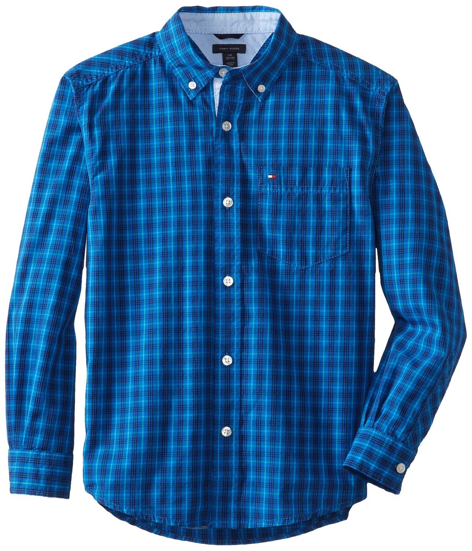 Рубашка детская Tommy hilfiger 2014 8-20 рубашка детская tommy hilfiger 2014 2 7