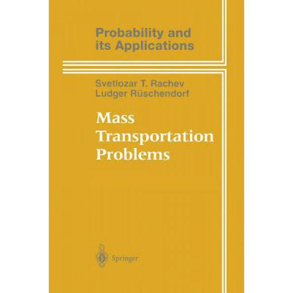 Mass Transportation Problems: Applications [9781475780871] multilevel logistic regression applications