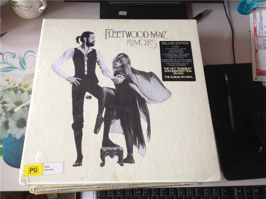 Граммофонная пластинка   Fleetwood Mac Rumours 4cd+dvd+LP fleetwood mac fleetwood mac life becoming a landslide 2 lp