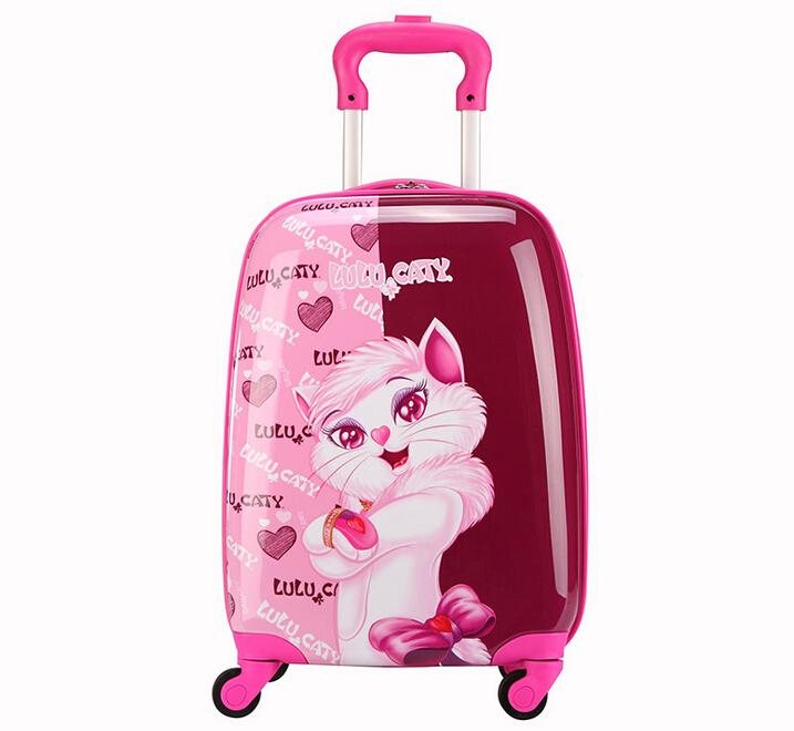 Детский чемодан на колесиках Disney 18